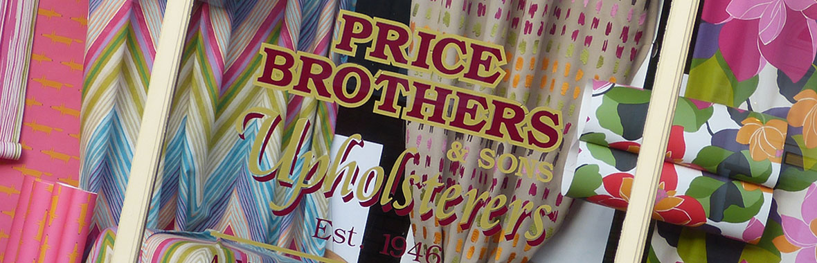 Price Brothers & Sons shop window in Wrexham town centre