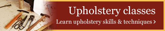 Upholstery classes - Learn upholstery skills & techniques >