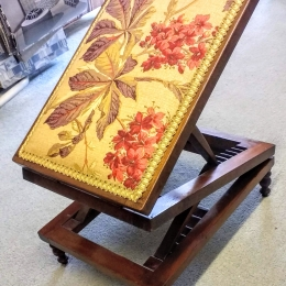 Antique folding stool