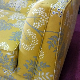 Bright yellow 4 seater